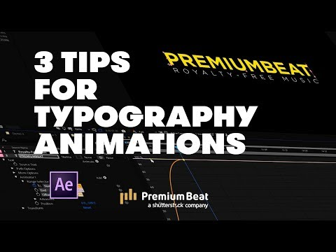 3 Typography Tips | PremiumBeat.com