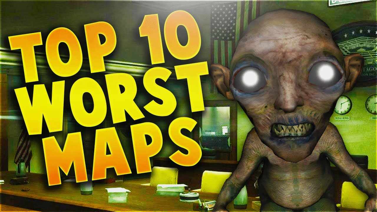 Top 10 worst call of duty zombies maps ever call of duty world at top 10 worst call of duty zombies maps ever call of duty world at war black ops 3 gumiabroncs Choice Image