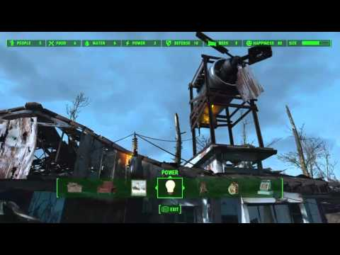 Fallout 4 Best Lighting and Power Walkthrough For Your House And Settlement