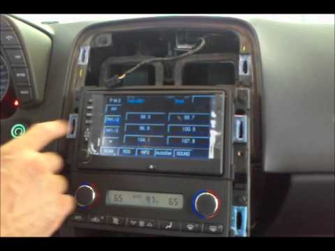 How To Add Navigation System Non Bose Chevy Corvette
