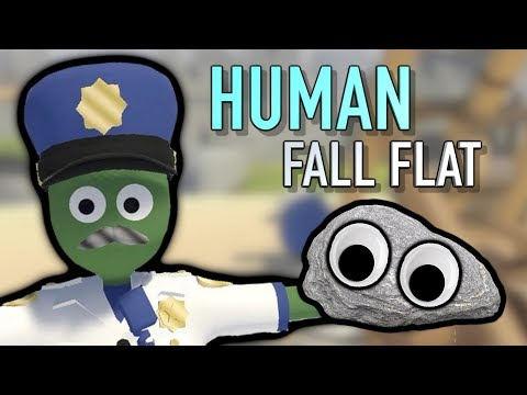 THE HARDEST I'VE LAUGHED ALL YEAR! Human Fall Flat Part 3