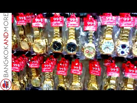 Bangkok Fake Watches @ Indra Square Bangkok - Cheap Shopping Bangkok