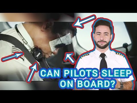 Can Pilots Sleep While Flying? | PilotAmireh Episode 5