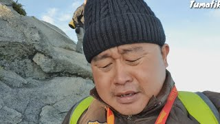 Derita Tumatik Menawan Gunung Kinabalu