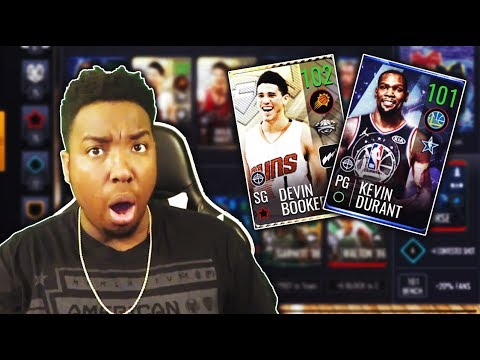 FROM 77 OVR TO 101 OVR!!! MASSIVE 25 MILLION COIN NBA LIVE MOBILE 19 SHOPPING SPREE!!!
