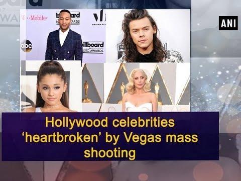 Hollywood celebrities 'heartbroken' by Vegas mass shooting - Hollywood News