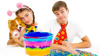 Nastya and Artem want the same colored noodles