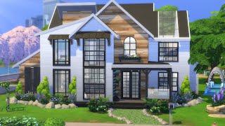 DREAM FAMILY HOUSE   The Sims 4   Speed Build   NO CC