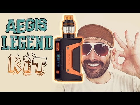 The GeekVape Aegis Legend Kit!