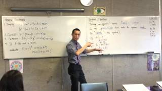 Solving Equations (Outlining the purpose of 'solving an equation')