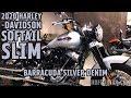 2020 HARLEY-DAVIDSON SOFTAIL SLIM IN BARRACUDA SILVER DENIM