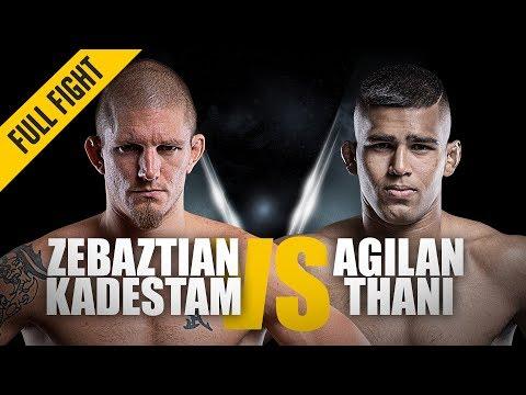 ONE: Full Fight | Zebaztian Kadestam vs. Agilan Thani | Swedish Excellence | July 2018