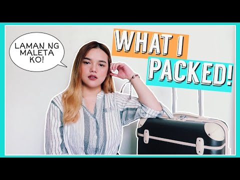 WHAT I PACKED FOR HONG KONG TRIP! (Mga Tips and Tricks) | Philippines