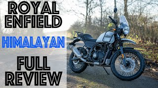 Royal Enfield Himalayan Full Review! Is this the only bike you'd ever need?