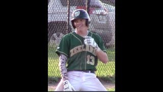 Trevor Kilinski Sophomore Varsity Baseball Highlights Zeeland West MI Class of 2020
