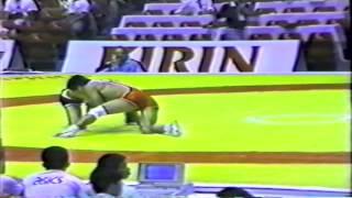1990 Senior World Championships: 57 kg Choon-Ho Kim (KOR) vs. Rumen Pavlov (BUL)