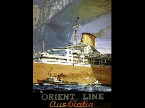 s s Orchades - P&O - Orient Line - Interior - Special Delivery Stomp - Kurt Henkel