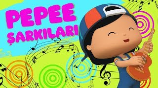 Pepee Şarkıları - Eğlenceli 7 Çocuk Şarkı Bir Arada - Eğitici Çocuk Şarkıları   Düşyeri