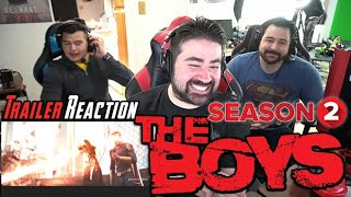 The Boys Season 2 Trailer & Clips - Angry Reaction!