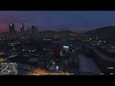 GTA V Lost crate to Merryweather Valkyrie bug again - YouTube