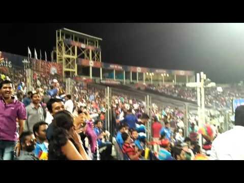 Crowd Dancing on Zingat at Cricket Ground IPL Match