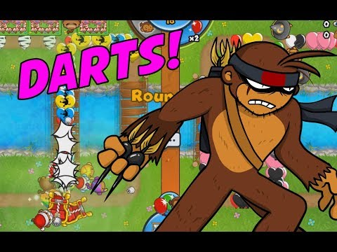 DARTS ARE SUPERIOR! - Bloons TD Battles