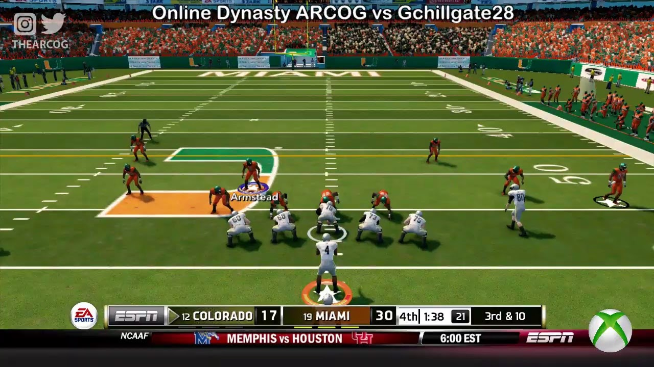 Image result for online dynasty ncaa football