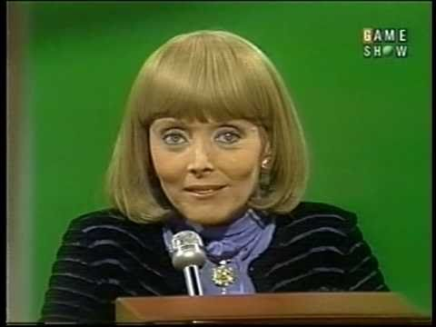 Carolyn Jones on 1982 game show- a year before she died