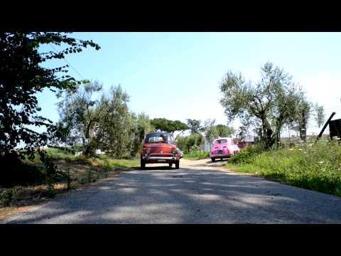 FIAT 500 Vintage Convoy tours in Rome and Lazio area - www.rome500exp.com