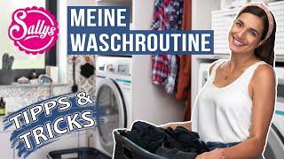 Wäsche waschen - Meine Routine Tipps & Tricks / Sallys Welt