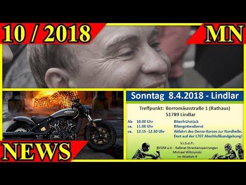 Motorrad Nachrichten 10/2018 - Wochenrückblick