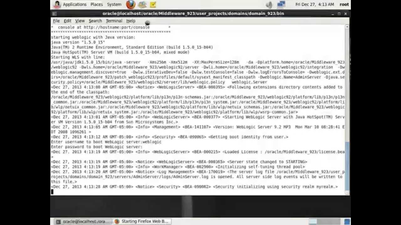 weblogic 9.2 server download
