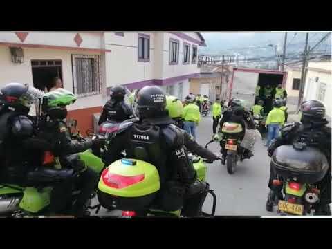 Policía no para y garantiza que se cumpla el aislamiento