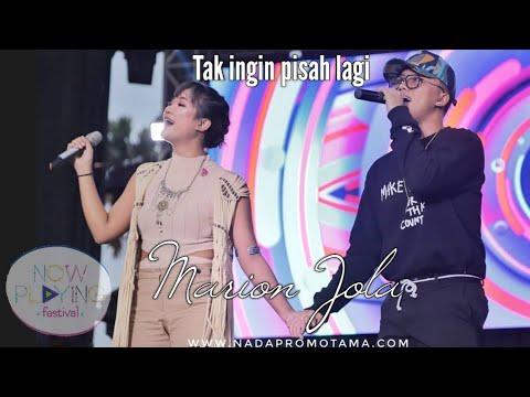 Marion Jola X Rizky Febian - Tak Ingin Pisah Lagi Nowplaying Festival
