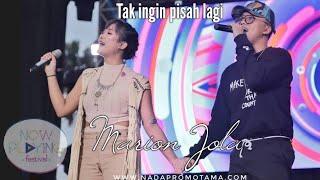 Gambar cover Marion Jola X Rizky Febian - Tak Ingin Pisah Lagi Nowplaying Festival
