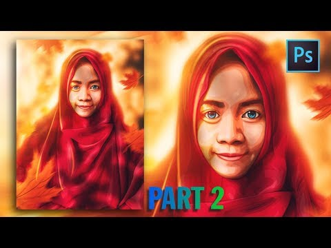 [Photoshop Tutorial] HOW TO CREATE VECTOR/VEXEL HIJAB IN PHOTOSHOP [PART 2- EYES] thumbnail