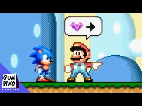 What If Sonic was in Super Mario World thumbnail