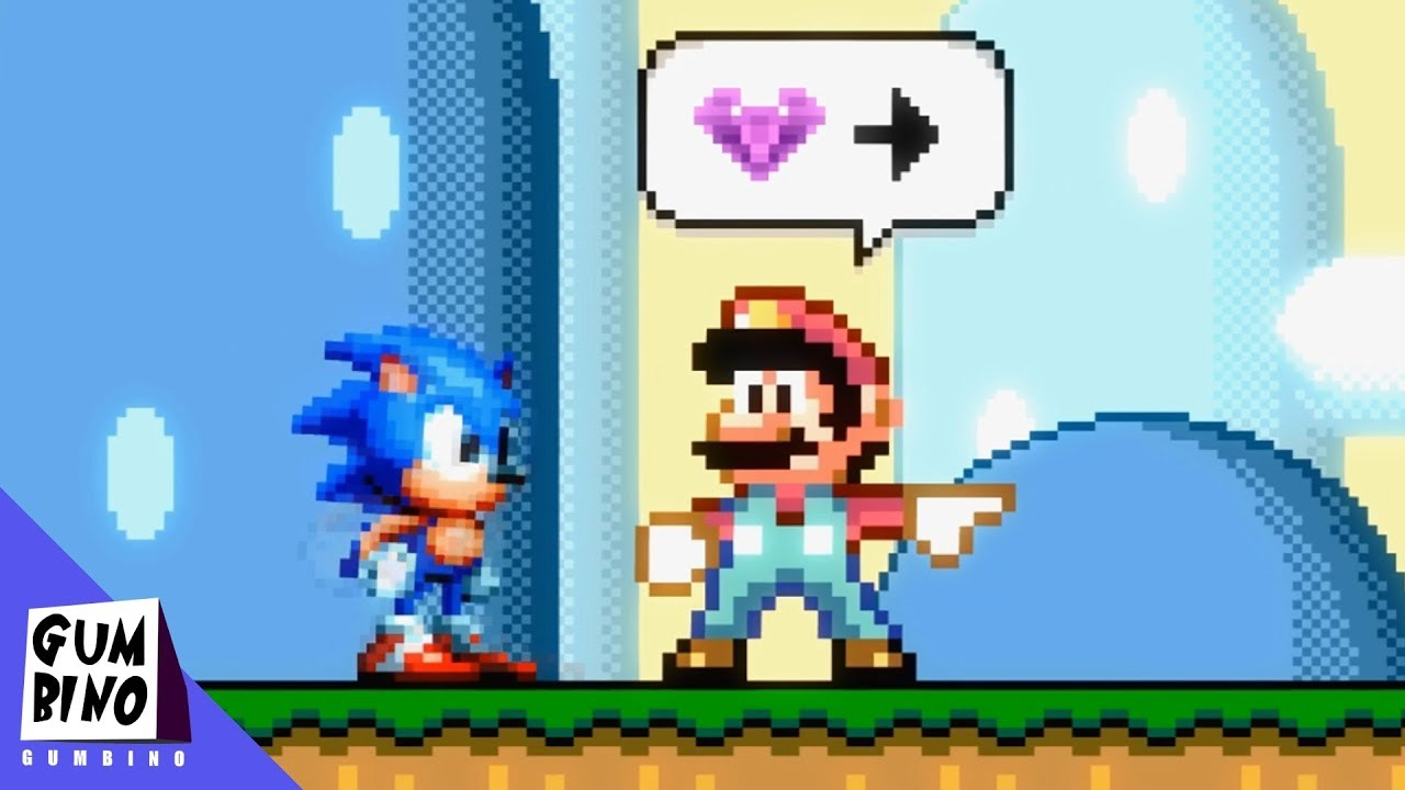 What If Sonic was in Super Mario World