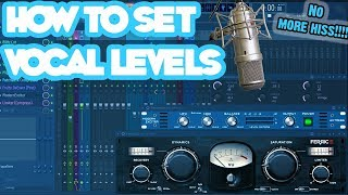 How To Set Vocal Levels (Home Recording Style)