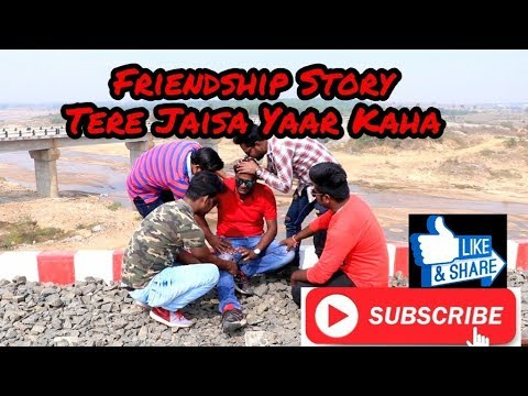 ||Friendship Story || Emotional Video || Tere Jaisa Yaar Kaha || Team Amazing