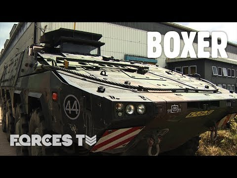 BOXER: Up Close With The Army's New Fighting Vehicle | Forces TV