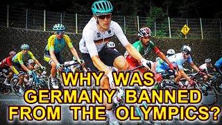 ஒலிம்பிக் போட்டியில் இருந்து ஜெர்மனி வீரர் வெளியேற்றம் | why was germany banned from the olympics?