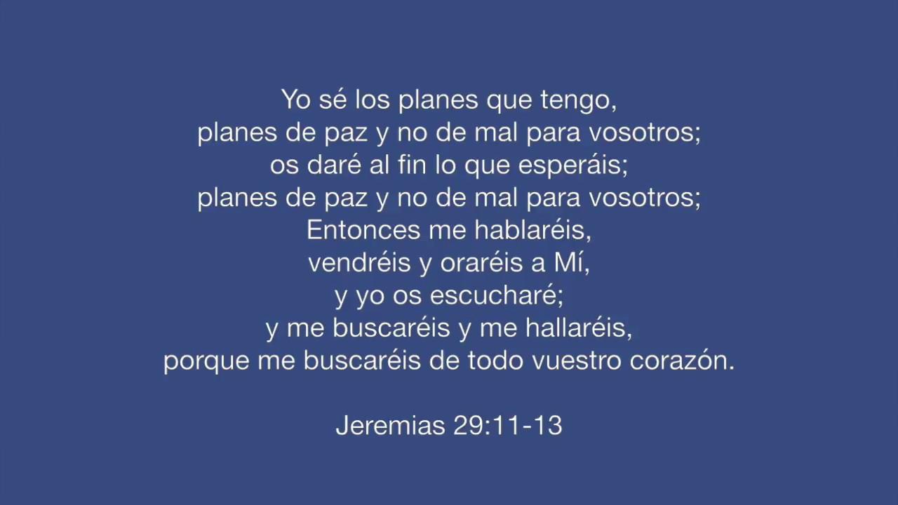 Conhecido Jeremias 29:11-13 - YouTube ZE32