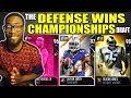 THE DEFENSE WINS CHAMPIONSHIPS DRAFT! Madden 19 Draft Champions