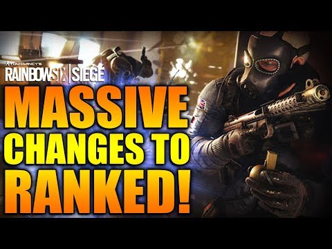 Rainbow Six Siege - In Depth: MASSIVE CHANGES TO RANKED!