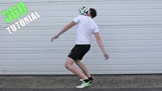 360 Tutorial (Upper Trick) :: Freestyle Football / Soccer (UPPERS)