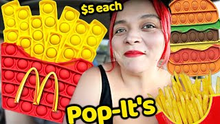 McDonald's Pop-it's! Fidget Toy Shopping at the Swap Meet