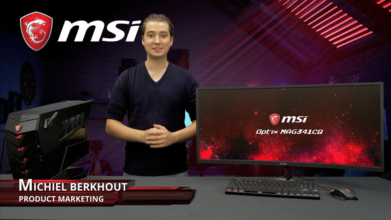 Smooth ultra wide gaming with Optix MAG341CQ | Gaming Monitor | MSI