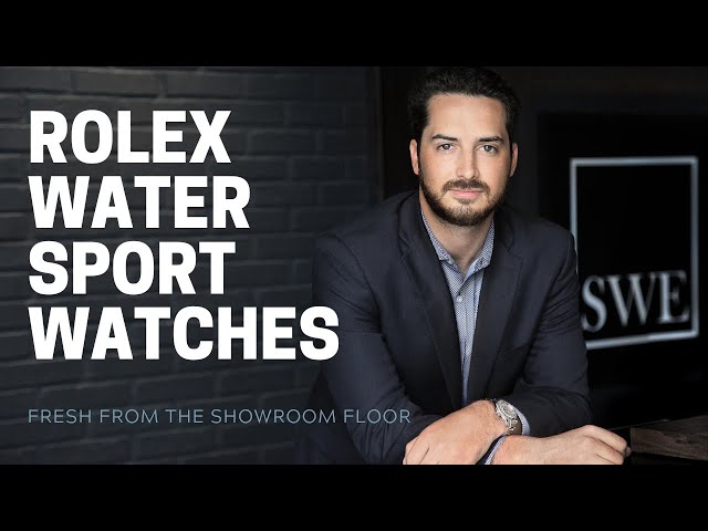 Rolex Water Sport Watches Review: Submariner, SeaDweller, YachtMaster |  [Watch Review]