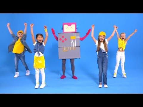 Robo - Gehen Wie Ein Roboter (Offizielles Tanzvideo) - Lichterkinder | Kinderlieder | Spaßlieder